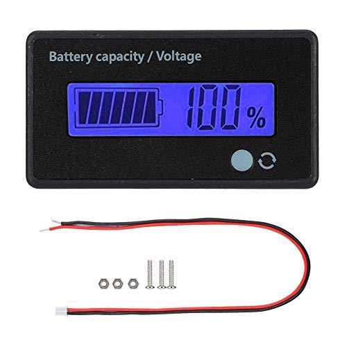 Fantastic Deal! Digital Battery Capacity Tester, 12-84V Sound-Light Alarm Battery Capacity Monitor I...