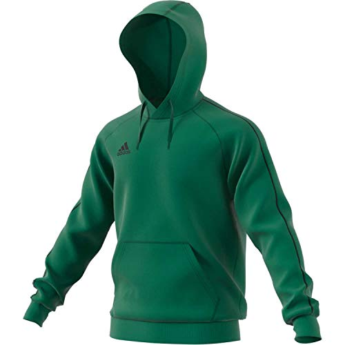 adidas Core18 Hoody Sudadera, Hombre, Bold Green, L