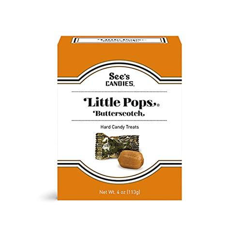 See's Candies 4 oz Butterscotch Little Pops