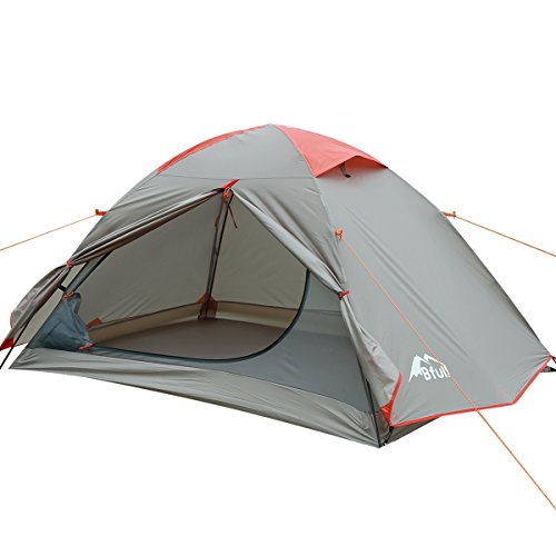 BFULL Camping Tent, Portable Folding Waterproof Outdoor Tent for Hiking Climbing Dome Durable Camping for 1-3 Person