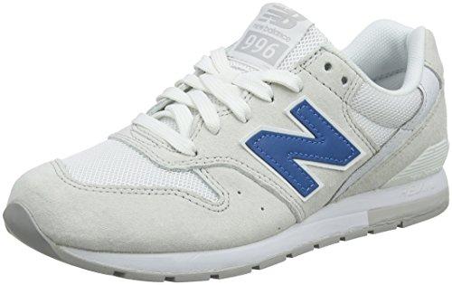 New Balance Herren Mrl996v1 Sneaker, Beige (Hellbeige/Weiss), 47.5 EU