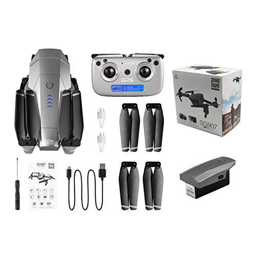 Greatangle-UK SG907 GPS Drone con cámara 4K / 1080P HD 5G Anti-vibración...