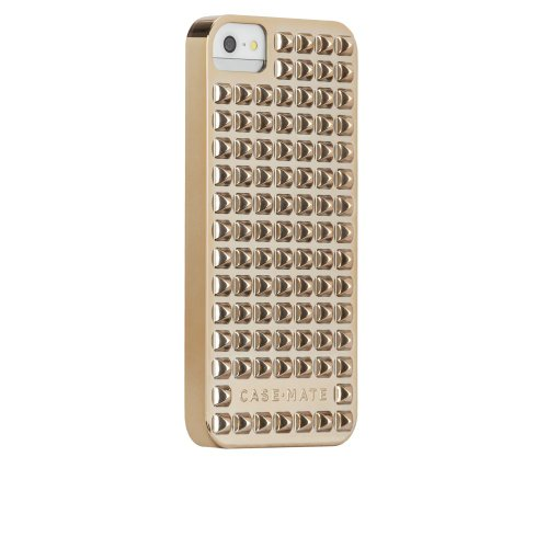 CASE-MATE Barely There Studded Case for Apple iPhone 5S - Gol