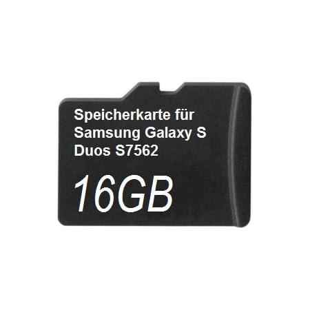 16gb Speicherkarte Für Samsung Galaxy S Duos 2 Computer Zubehör