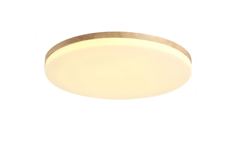Color : Dimming-10cm 10w SJUN Deckenleuchte Holz Wohnzimmer Lampe