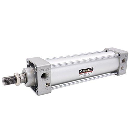 Heschen - Cilindro neumático estándar SC 50-150 PT1/4 puerto 50 mm orificio 150 mm Stroke doble acción