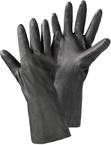 L+D 14611-7 Chloropren-Kautschuk Arbeitshandschuh Größe (Handschuhe): 7, S EN 388, EN 374 CAT II 1 Paar