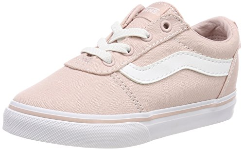 Vans Unisex Baby Ward Slip-ON Sneaker, Pink ((Canvas) Sepia Rose Oln), 23.5 EU