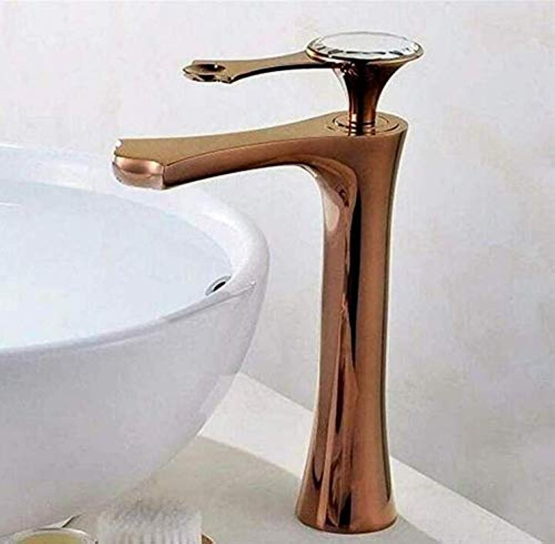 Waschbecken Wasserhahn Becken Wasserhahn Waschbecken Wasserhahn Wasserhahn Bad Einhandgriff Gold Kupfer Hei und Kalt