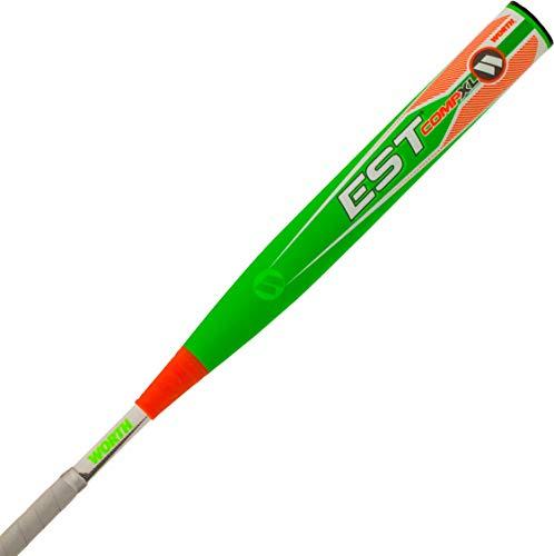 """Worth EST Comp XL ASA Slowpitch Softball Bat, 13.5"""" barrel, 26 oz"""