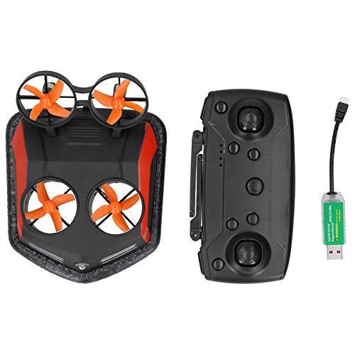 VGEBY Mini Drone, 3 in 1 RC Drone Telecomando Anfibio Car Boat Hovercraft RC Drone Veicolo RC Boat Toy per Principianti e Appassionati di Droni