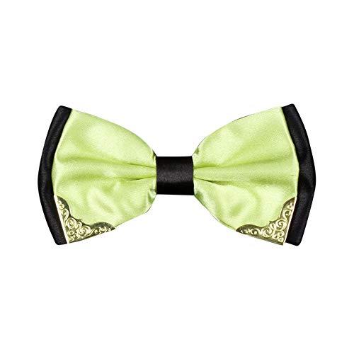 Herren Formal Fliege (12 cm x 6cm) Mode Einstellbar in Verschiedenen Farben zum Anzug oder Smoking/für Alle Männer das Perfekte Geschenk In Party Hochzeit Valentinstag Vatertag Dorica(D-1)