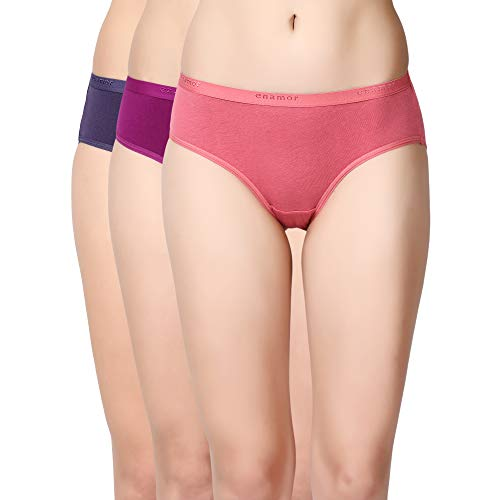 Enamor CR02 Super Comfort Cotton Stretch Brief-Mid Waist Panty
