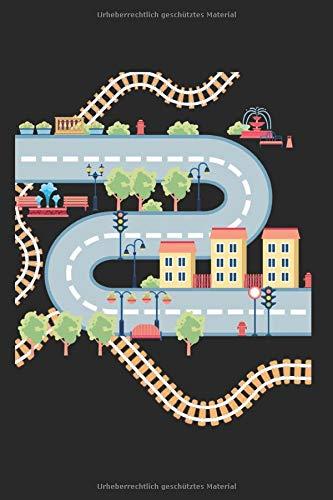 Spielteppich Teppich: Spielteppich & Straße Notizbuch 6'x9' Liniert Geschenk für Kinder & Erwachsene