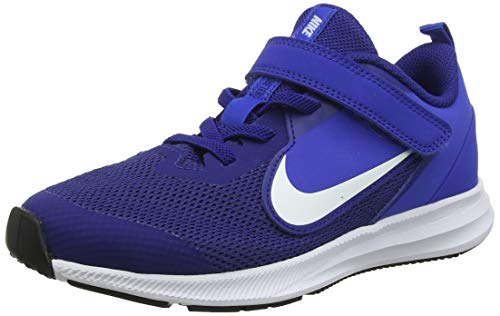 Nike Boy's, Downshifter 9 Running Sneaker - Big Kid Royal 5 M
