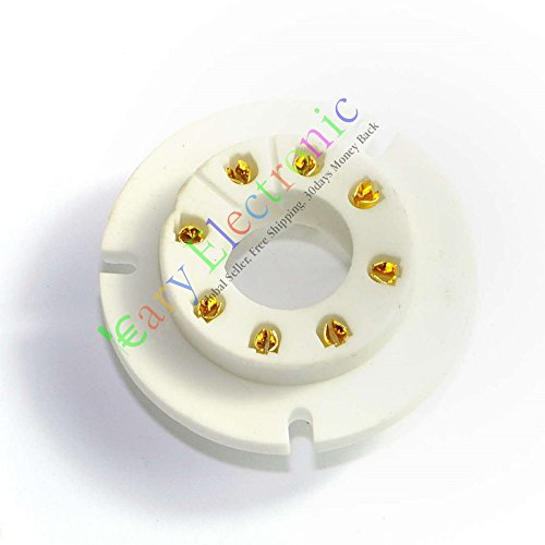 Cary 4Pin Gold Keramik Vakuum Röhrenfassungen Ventil-Unterteil FR FU50GU50LV35u8C FU15