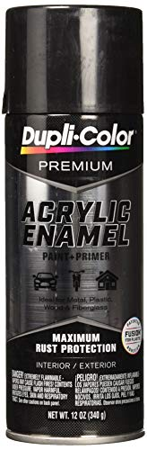 Dupli-Color - EPAE11600 Black Stainless Steel Premium Acrylic Enamel Spray Paint