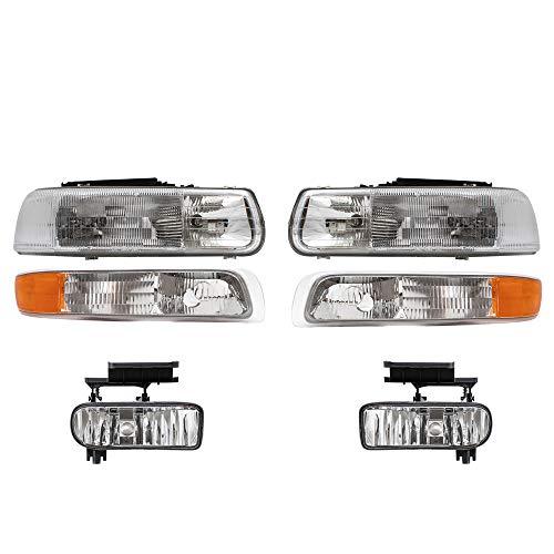 02 chevy silverado headlights - 9