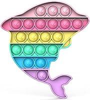 Bdwing Push And Pop Bubble Sensory Fidget Toy, Giocattolo Sensoriale per Autismo ADHD ADD Bisogno Speciale Antistress...