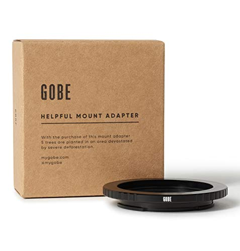 Gobe Lens Mount Adapter: Geschikt voor de C (Cine & CCTV) Lens en Sony E Camera Body