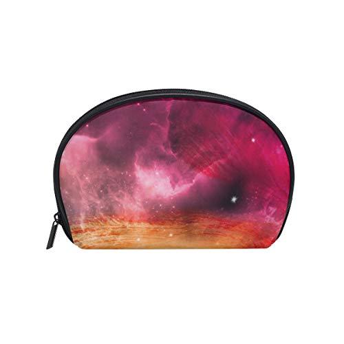 Montoj Amazing Galaxy Circle bolsa de maquillaje organizador de artículos de tocador...