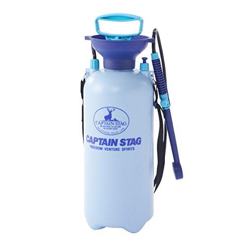 キャプテンスタッグ(CAPTAIN STAG) アウトドア用品 簡易シャワー ポンピングシャワー 携帯用 7.5LM-9537