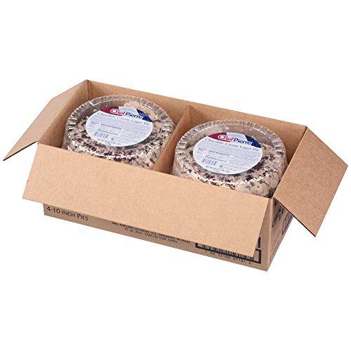 Sara Lee Chef Pierre Chocolate Cream Multi Layer Cream Pie, 40.6 Ounce -- 4 per case.