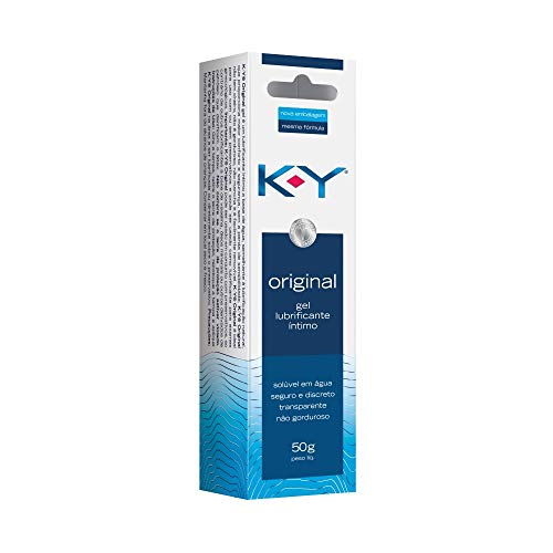 K-Y Gel Lubrificante Intimo Bisnaga 50G, K-Y