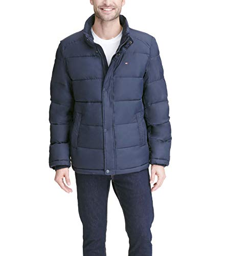 Tommy Hilfiger Men's Classic Puffer Jacket (Regular and Big & Tall Sizes), midnight, S
