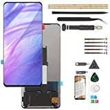 RongZy für Xiaomi Poco X3/Poco X3 Pro LCD Displayersatz für MI 10T lite/Note 9 pro 5G Touchscreen Digitalisierer Bildschirm mit Werkzeugen(Schwarz)