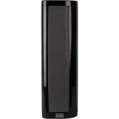 BLACK+DECKER BHVHC15 Ceramic Heater, 1 Size, Black (Renewed)