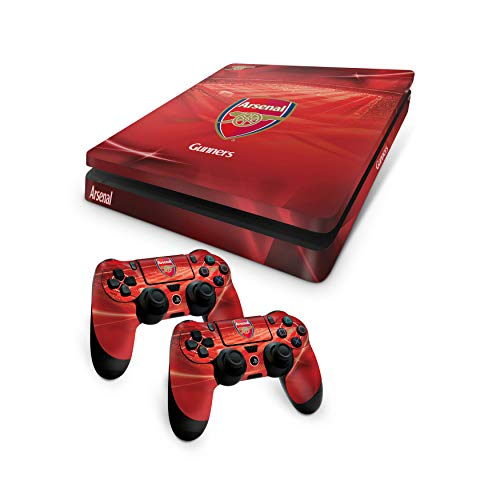 Official Arsenal FC PS4 Slim Console Skin and 2x Controller Skin Combo Pack [Importación inglesa]