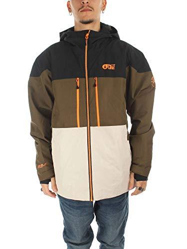 Picture Object Jacket MVT212 Snowboardjack voor heren, Kaki, maat S.