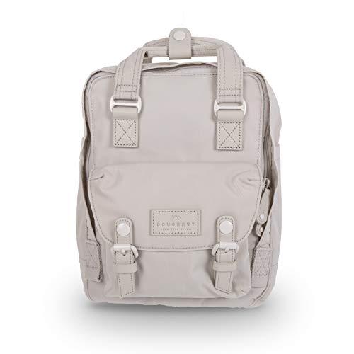 Doughnut Macaroon Mini Pastel 7L Travel School Ladies College Girls Lightweight Casual Daypacks Bag Small Backpack (Stone)