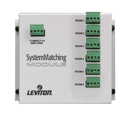 Leviton SGAMP System Matching Module (For Use with Non-Impedance Matched Volume Controls SGVST), White -