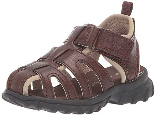 Carter's Douglas Baby-Sandalen für Jungen, Braun (braun), 24 EU