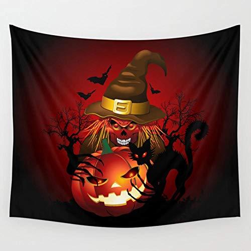 xdai Bed Blankets,Horror jack-o-lantern black cat,Flannel Cozy Warm Soft Fluffy Printed Pattern Bedspread Throw Blanket Sofa Microfiber Nursery Blankets Bedding L(180X200CM)