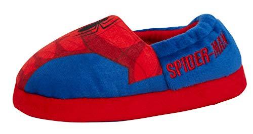 Ultimate Spiderman - Zapatillas para niños, color Rojo, talla 24 EU