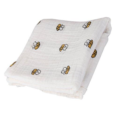 B Baosity Couvertures d'allaitement Muti-usages Nursing Cover Housse Bébé Siège Carseat d'Auto Soins Infirmiers Cadeau Parfait pour Nouvelle Maman - Girafe