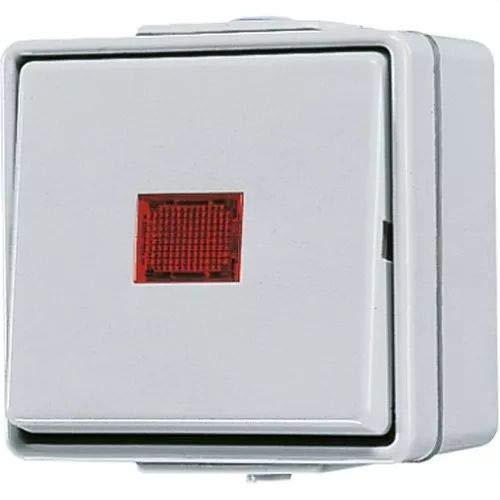 Jung AP-Kontrollschalter 606KOW, 250 V