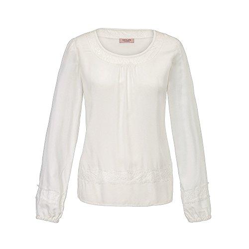 CONLEYS LYKKELIG Bluse Offwhite Offwhite Größe 42