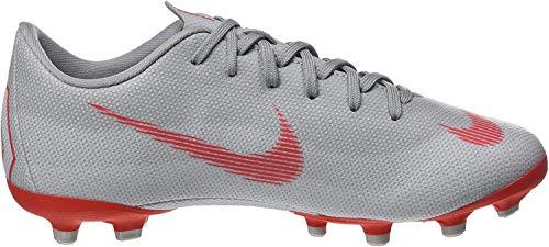 Nike Vapor 12 Academy Kid's Firm Ground Soccer Cleats (3 Little Kid M) Wolf Grey