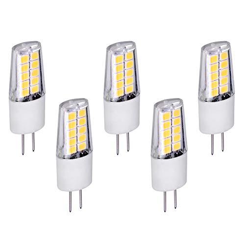 5x G4 LED Leuchtmittel 3W 12V AC/DC neutralweiß 4000K Lampen Stecklampe Halogen ersatz SMD 240 Lumen Ø13mm 5er Pack