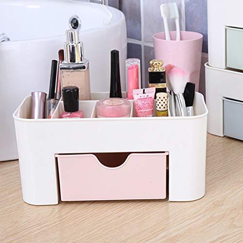 DNKNS Badezimmerregal Kosmetische Aufbewahrungsbox Desktop Finishing Box Schmuck Lippenstift...