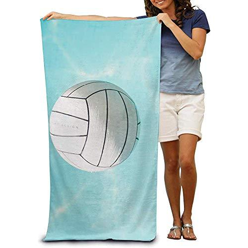 utong Toallas de Playa 100% algodón 80x130cm Toalla de Secado rápido para Nadadores Manta de Playa de Voleibol acuático