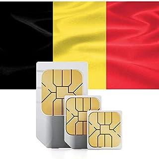 西ヨーロッパ1GB用プリペイドデータ SIMカード 71以上の国で使用可能 30日間有効 ドイツ、オランダ、オーストリア、スイス、ベルギーなど 12 GB for 60 days