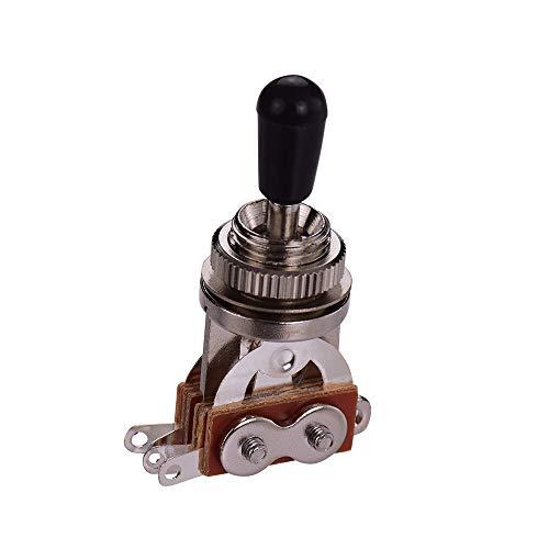 Interruptor de guitarra eléctrica de 3 vías LP SG Selector de 3 posiciones Selector de palanca Plata superior
