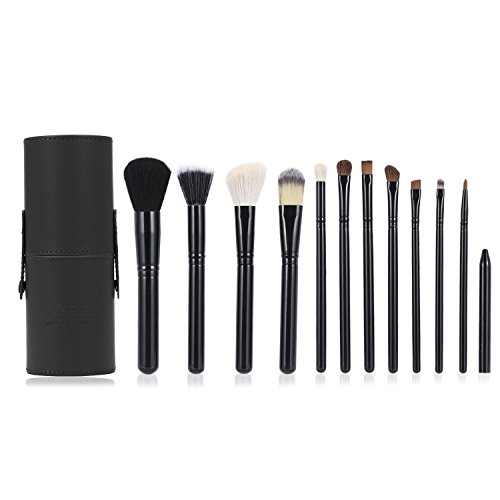 Brochas de Maquillaje Luxebell 12pcs Set...