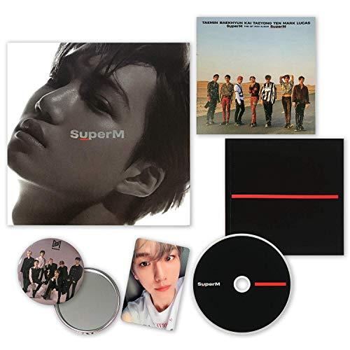 SuperM 1st Mini Album - SUPER M [ KAI ver. ] CD + Booklet + Mini Booklet + Photocard + OFFICIAL POSTER + FREE GIFT / K-POP Sealed.