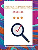 Metal detecting journal: metal detector tracker